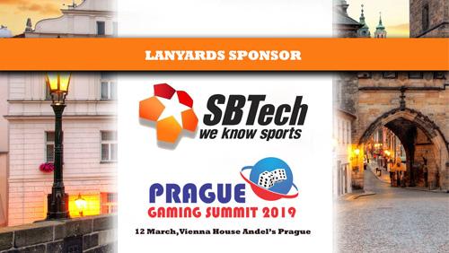 SBTech announced as Lanyards Sponsor at Prague Gaming Summit 3