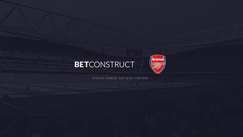 BetConstruct joins Arsenal as the Official Partner