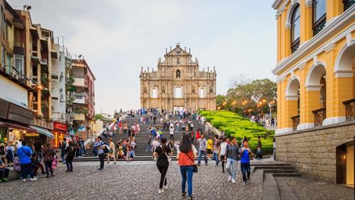 Macau tourist arrivals up in January