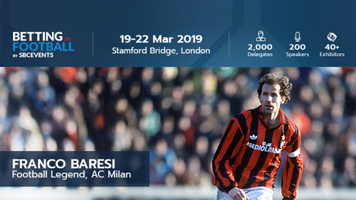 AC Milan Legend Franco Baresi to open up Betting on Football 2019