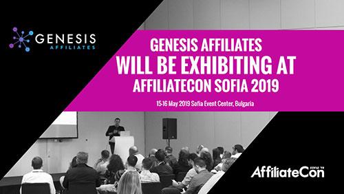 Genesis Affiliates the latest exhibitor to sign up for AffiliateCon Sofia 2019