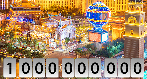 Nevada casino gaming revenue tops $1b in February
