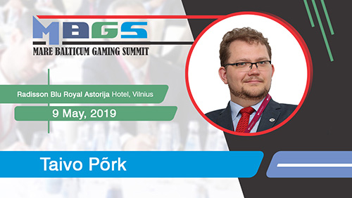 Taivo Põrk (Ministry of Finance, Estonia) will once again be a speaker at MARE BALTICUM Gaming Summit