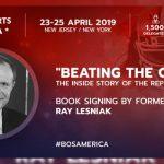 #bosamerica book signing for former New Jersey State Senator Raymond Lesniak