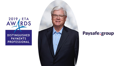 ETA honors Paysafe's O.B. Rawls with 'Distinguished Payments Professional' Star Award