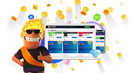 FeedBACK Casino affiliate site launched by online casino trailblazers