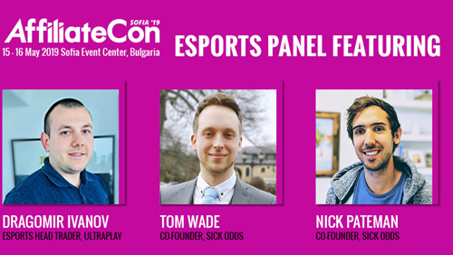 UltraPlay and SickOdds to head esports panel at AffiliateCon Sofia