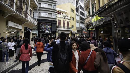 Macau survey's citizens on the tourist tax idea