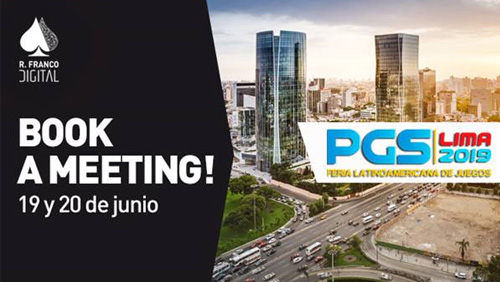 R. Franco Digital to reveal its latest global strategies at PGS in Lima