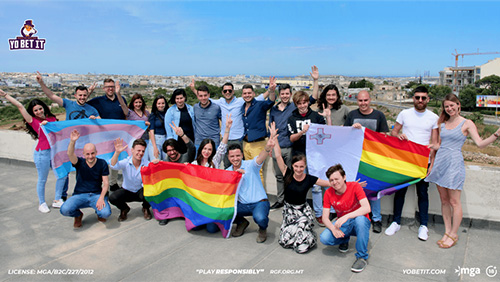 Yobetit to sponsor Malta Pride – from riots to rainbows