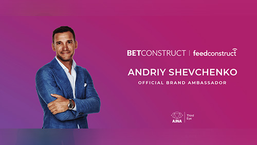 Andriy Shevchenko as brand ambassador for BetConstruct and FeedConstruct