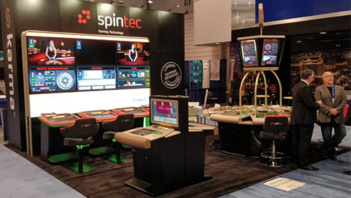 Australian operators impressed by Spintec Gaming Solutions at AGE 2019