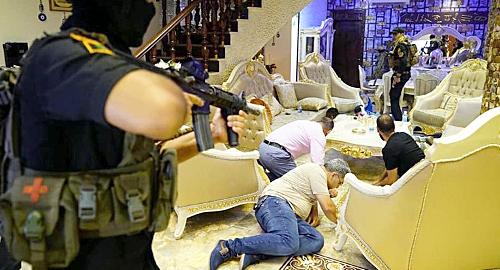Iraqi militias take down Baghdad's godfather of gambling