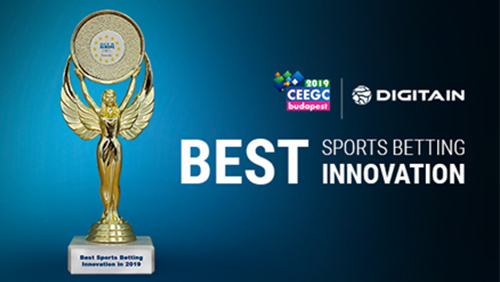 Digitain wins Best Sports Betting Innovation at the CEEGC Awards 2019