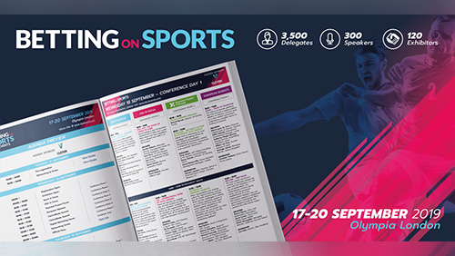 Richest ever speaker line-up makes Betting on Sports the must-attend gambling industry event