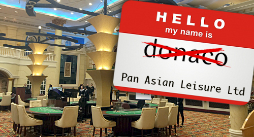 Casino operator Donaco Int'l to rebrand as Pan Asian Leisure