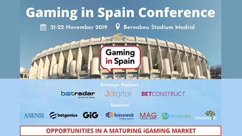 """Join us at the 2019 Gaming in Spain Conference: """"Sustainable advertising in a maturing market"""""""