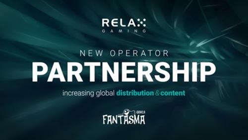 Relax Gaming adds new studio partner Fantasma Games