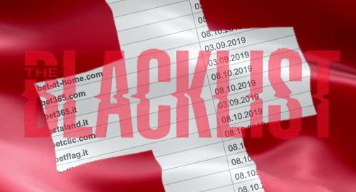 Switzerland expands international online gambling blacklist