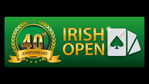 The Irish Poker Open Festival launches for 2020 with €1,000,000 guaranteed main event