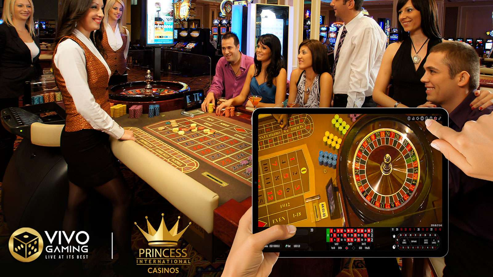 Vivo Gaming and Princess Int. Casinos ally to offer a real land-based casino experience