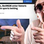 Yahoo Sports to steer customers to BetMGM sports betting app
