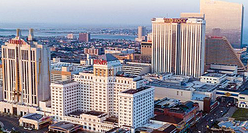 Atlantic City casinos post October gains but fear further competition