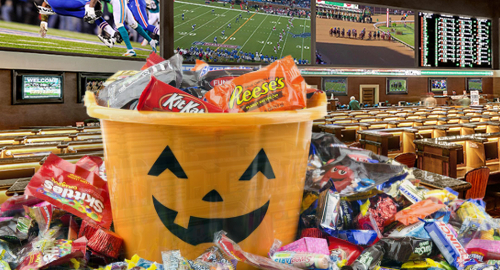 Nevada casino sportsbooks had more treats than tricks in October