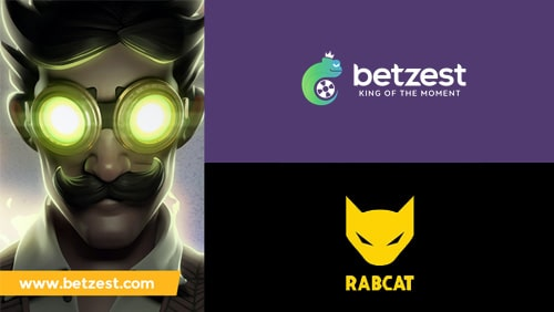 Sports betting and Online Casino operator Betzest goes live with Rabcat casino games