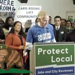 California sports betting hearing; cardrooms protest rule changes
