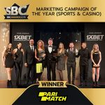 Parimatch crowned winners of Marketing Campaign of the Year at the 2019 SBC Awards