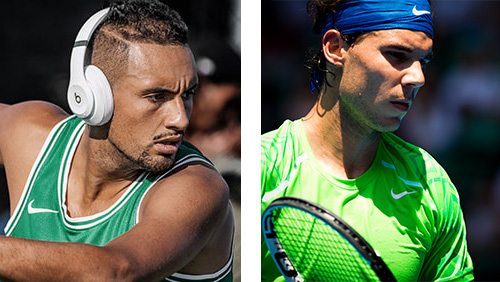Kyrgios and Nadal serve up a classic as world number one wins in four sets