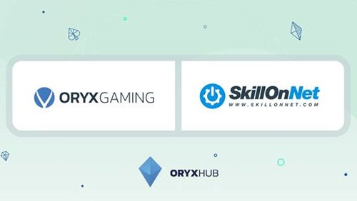 ORYX Gaming joins forces with SkillOnNet