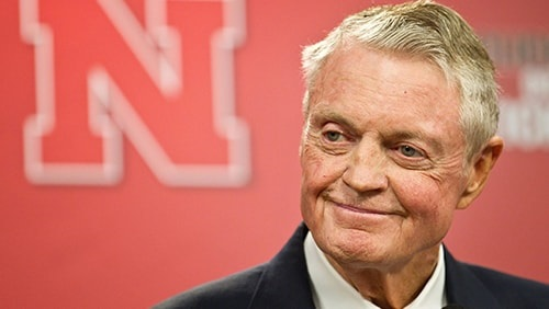 Former Cornhuskers head coach leads group opposed to gambling