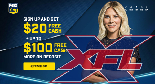 XFL names Fox Bet its latest authorized gaming operator