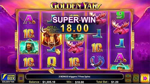 Lightning Box's Golden Yak set to debut with Bet365