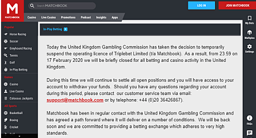 matchbook-betting-exchange-uk-gambling-license-suspended