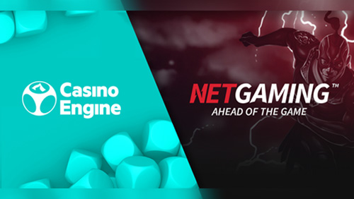 NetGaming signs content distribution agreement with CasinoEngine