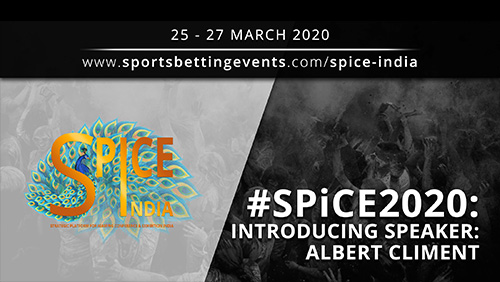 SPiCE 2020: Less than two months to go to SPiCE 2020! | Interview with Albert Climent