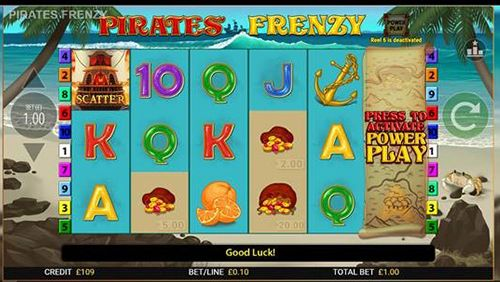 Treasure abound in Blueprint Gaming's Pirates' Frenzy
