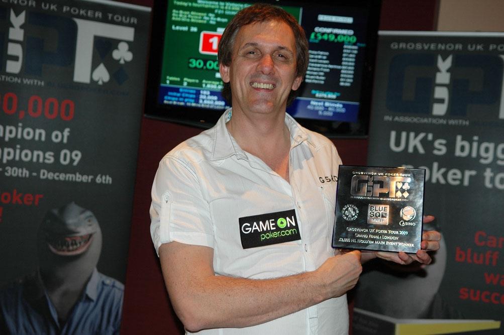 Tony Cascarino: a worthy UK poker king