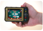 Handheld e-deck the future of online gaming?