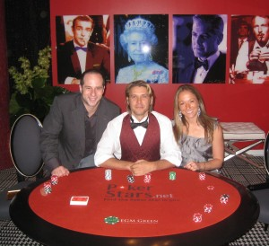 Poker news, The eco friendly poker table at Esquire House