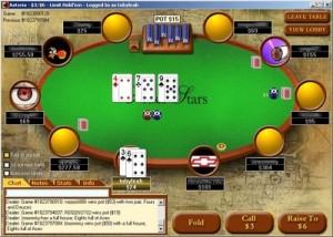 Pokerstars menu holdem betting