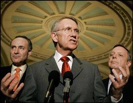 Harry Reid Senate Swan Song?