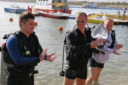 Russian Poker Tour goes underwater
