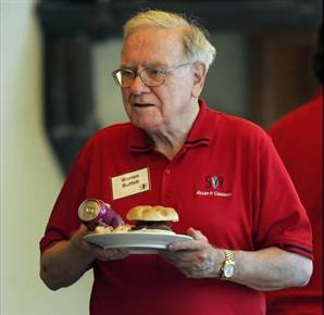 Warren Buffett dining out on illegal sports bets?