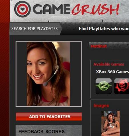 Gamecrush, for all your prosti-gaming needs