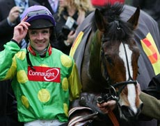 Big Fella Thanks Ruby Walsh for Grand National favouritism