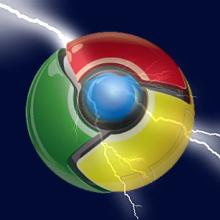 New Google Chrome beta faster than lightning (literally)